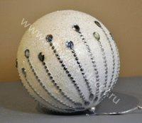 Разукрасить елочные шары своим руками